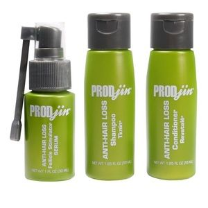 New Prodjin travel set hair loss